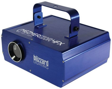 Blizzard Lighting Mezmerizor 4FX High-Power Class 3R 250MW RGB Laser with 3D Effects MEZMERIZOR-4FX