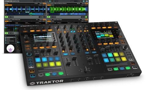 Native Instruments TRAKTOR-KONTROL-S8 Traktor Kontrol S8 All-In-One DJ Controller System with Traktor Scratch Pro 2 TRAKTOR-KONTROL-S8