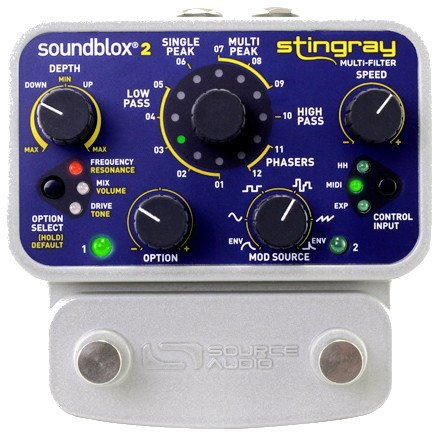 Source Audio SA224 Soundblox 2 Stingray Multi-Filter Effects Pedal SA224