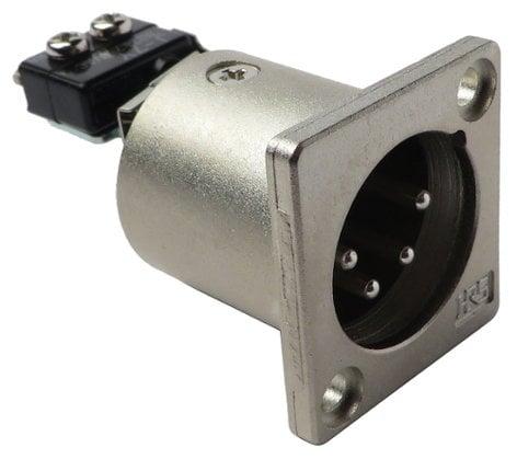 JVC QNZ0428-001 Female XLR Connector for GYDV500U QNZ0428-001