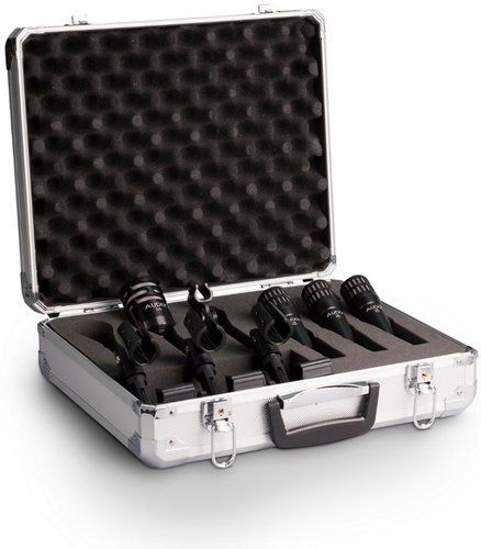 Audix DP4 4-Piece Drum Microphone Package with Road Case DP4-AUDIX