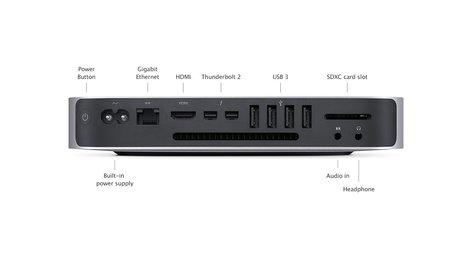 Apple MAC-MINI-2.6/1TB Mac mini with 2.6GHz Dual-Core Intel Core i5 Processing, 8GB Memory, 1TB HD MAC-MINI-2.6/1TB