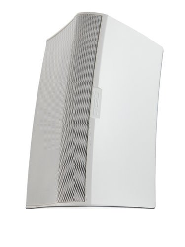 """QSC AD-S10T AcousticDesign Surface Mount 10"""" 2-Way Speaker for 70/100V Distributed Audio Lines with M10 Install Points, in White AD-S10T-WHT"""