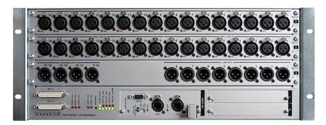 Soundcraft 5031234-VI 32 Input / 16 Analog Output Stagebox with CAT5 for VI Consoles 5031234-VI