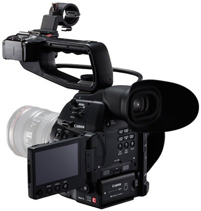 Canon EOS C100 Mark II Cinema EOS Super 35mm Digital HD Video Camera Body EOS-C100-MARK-II