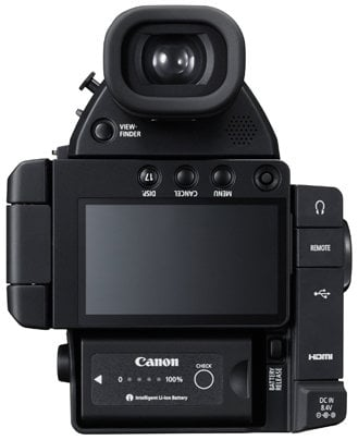 Canon EOS C100 Mark II Cinema EOS Digital Video Camera With Super 35mm  8 3MP CMOS Sensor (Body Only)