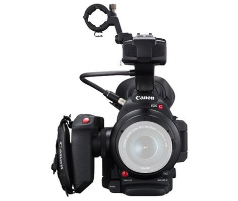 Canon EOS C100 Mark II Cinema EOS Digital Video Camera With Super 35mm  8 3MP CMOS Sensor (Body Only)