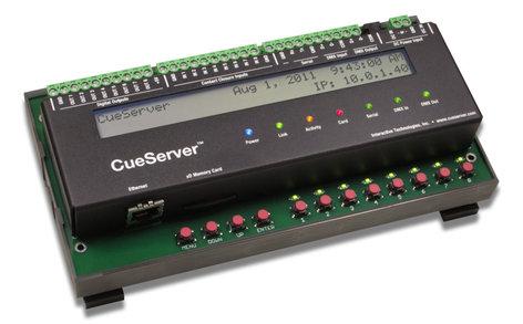 Interactive Technologies CS-840 CueServer Pro DIN Controller CS-840