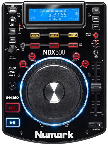 Numark NDX500 USB/CD Tabletop Media Player / Software Controller with Jog Wheel NDX500