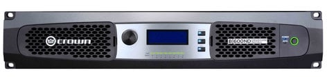 Crown 8 600ND 8-Channel Network Amplifier with AVB Technology and 70V/100V or Low Impedance Operation 8-600ND