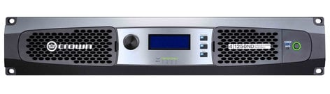 Crown 4 1250ND 4-Channel Network Amplifier with AVB Technology and 70V/100V or Low Impedance Operation 4-1250ND