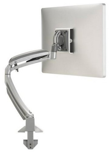 Chief Manufacturing K1D120S  Single Monitor Kontour K1D Dynamic Desk Clamp Mount in Silver K1D120S