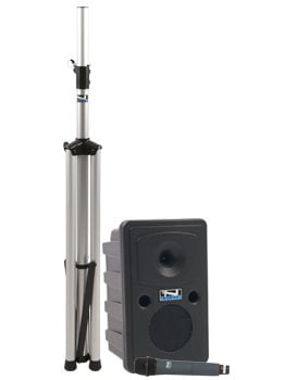 Anchor GG-BP  Go Getter Basic Portable PA System with Speaker Stand and Choice of Wireless Transmitter GG-BP