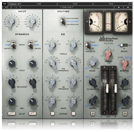 Waves EMI TG12345 Channel Strip Abbey Road Series EMI Console Modeling Plugin TG12345SG