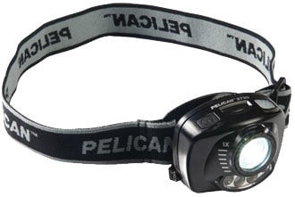 Pelican Cases 2720C 5-80 Lumens Gesture Activation Control LED Headlamp in Black 2720C