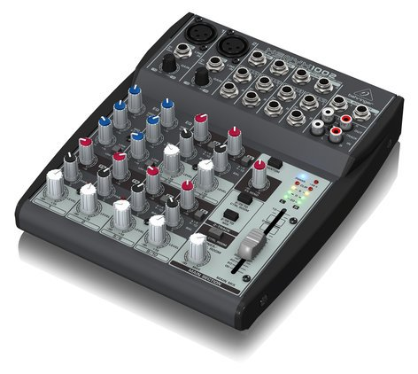 Behringer XENYX 1002 10-Input (1 mic, 4 stereo) 2-Buss with Rotary Control XENYX-1002