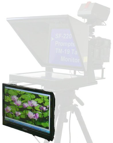 Mirror Image Teleprompter TM19  Talent Monitor for SF Series Teleprompters TM19