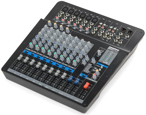 Samson MixPad MXP144FX Compact 12 Channel 14 Input Analog Stereo Mixer with Effects and USB SAMXP144FX