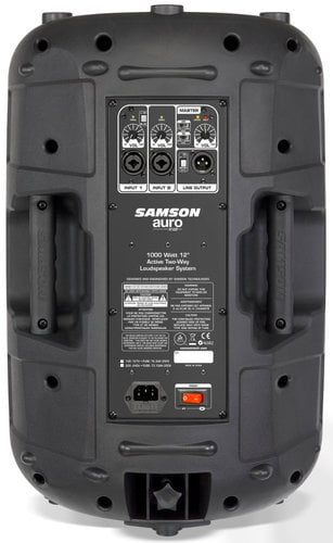 "Samson AURO-X12D Auro X12D 12"" 2-Way Active Speaker AURO-X12D"