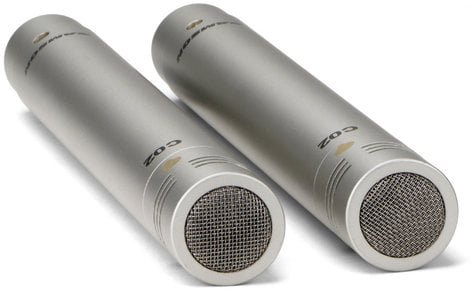 Samson C02 1 Pair of Supercardioid Pencil Condenser Microphones C02-PENCIL