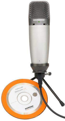 Samson C03U Multipattern USB Studio Condenser Microphone C03UCW