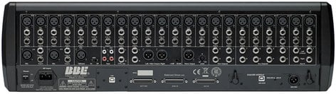 BBE MP24M 24-Channel Digital Mixer with BBE Sonic Maximizer Processing and Flight Case MP24M
