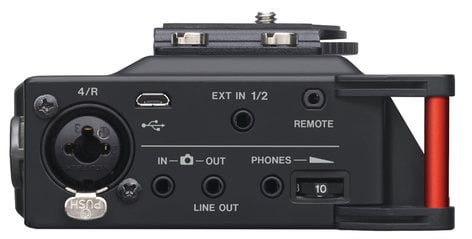 Tascam DR-70D  4-Channel Portable Linear PCM Recorder for DSLR DR-70D
