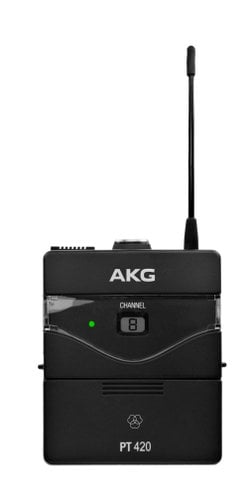 AKG PT420 Wireless Bodypack Transmitter for use with WMS Wireless System PT420