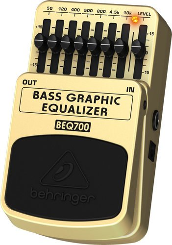 Behringer BEQ700  Bass Graphic EQ Pedal BEQ700