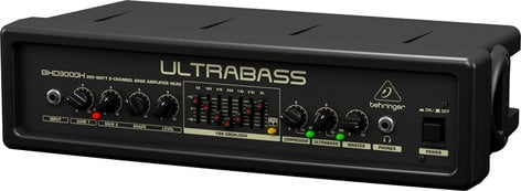 Behringer Ultrabass BXD3000H 300W 2-Channel Solid State Bass Amplifier Head BXD3000H