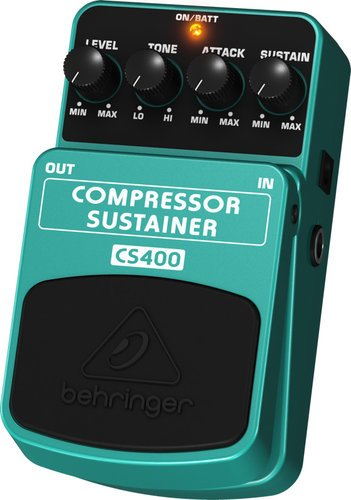 Behringer Compressor/Sustainer CS400 Dynamic Effects Pedal CS400