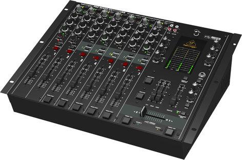 Behringer Pro Mixer DX2000USB 7-Channel USB DJ Mixer with Traktion 4 DX2000USB