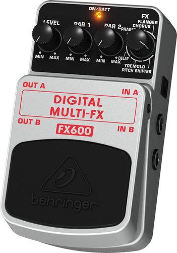 Behringer Digital Multi-FX FX600 Digital Stereo Multi-Effects Pedal FX600