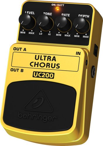 Behringer Ultra Chorus UC200 Stereo Chorus Effects Pedal UC200