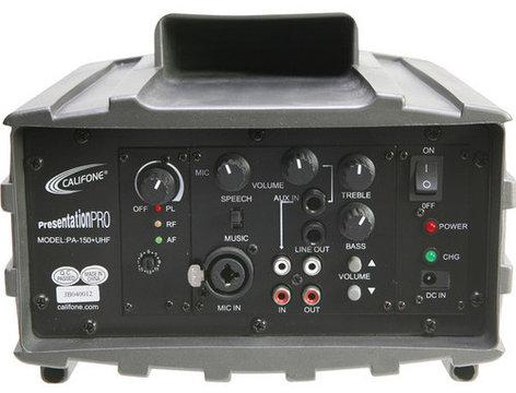 Califone International PA159 [RESTOCK ITEM] 15 Watt Wireless Portable PA System PA159-RST-01