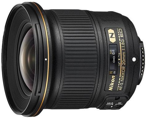Nikon 20051 AF-S NIKKOR 20mm f/1.8G ED Lens 20051