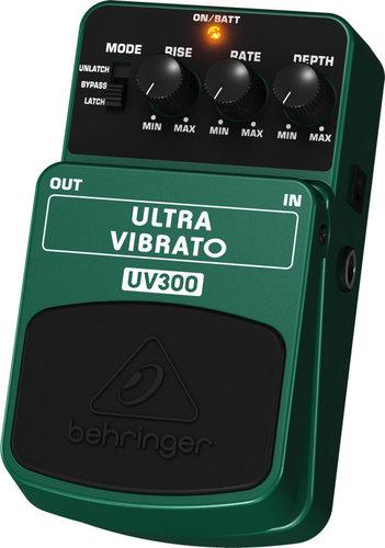 Behringer Ultra Vibrato UV300 Classic Vibrato Effects Pedal UV300