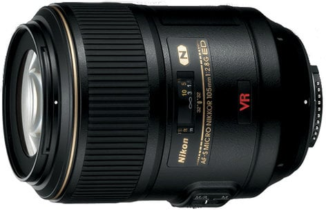Nikon 2160 AF-S VR Micro NIKKOR 105mm f/2.8G IF-ED Macro Lens 2160-NIKON