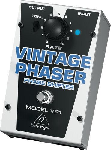 Behringer VP1-BEHRINGER Vintage Phaser VP1 Vintage-Style Phase Shifter Effects Pedal VP1-BEHRINGER
