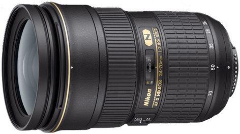 Nikon 2164 AF-S NIKKOR 24-70mm f/2.8G ED Telephoto Zoom Lens 2164