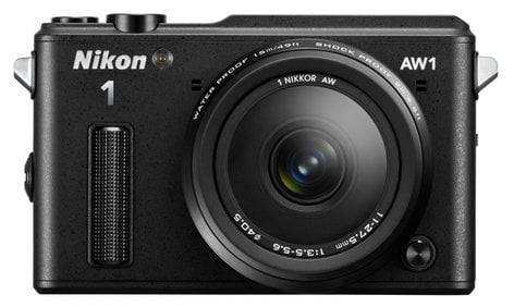 Nikon 27665 14.2 MP 1 AW1 Camera in Black with NIKKOR AW 11-27.5mm f/3.5-5.6 Zoom Lens 27665