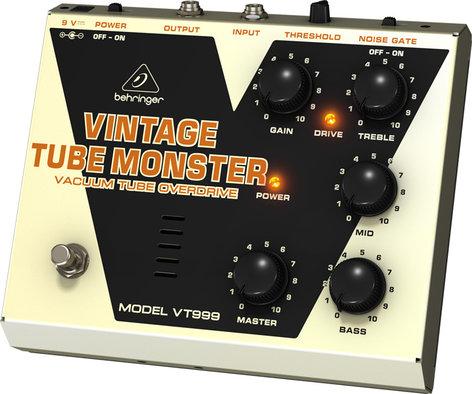 Behringer Vintage Tube Monster VT999 Vacuum Tube Overdrive Effects Pedal VT999