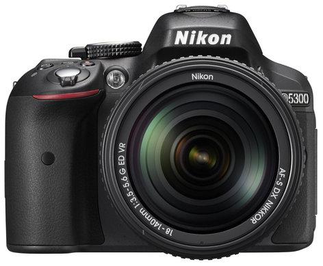 Nikon 13303 D5300 24.2MP DSLR Camera Kit with AF-S DX NIKKOR 18-140mm f/3.5-5.6G ED VR Lens 13303