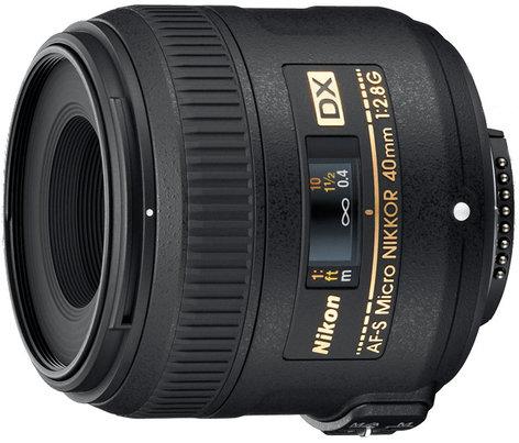 Nikon 2200 AF-S DX Micro NIKKOR 40mm f/2.8G Lens 2200-NIKON
