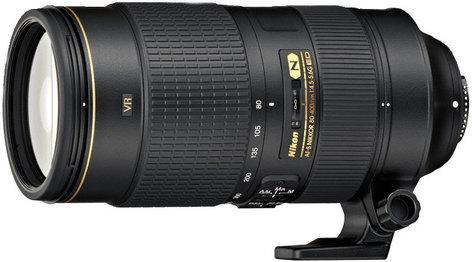 Nikon 2208 AF-S NIKKOR 80-400mm f/4.5-5.6G ED VR Telephoto Zoom Lens 2208