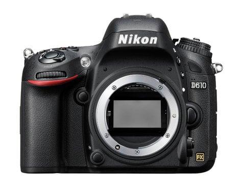 Nikon 1540 D610 FX-Format 24.3 Megapixel HD-SLR Camera Body 1540