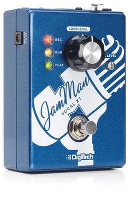 DigiTech JAMMAN-VOCAL-XT JamMan Vocal XT Vocal Looping Effects Pedal with Power Supply JAMMAN-VOCAL-XT