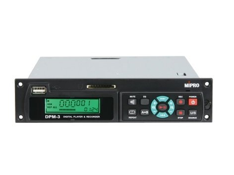 MIPRO DPM-3 Digital Audio Recorder/Playback Module for MA-708 and MA-808 Systems DPM3