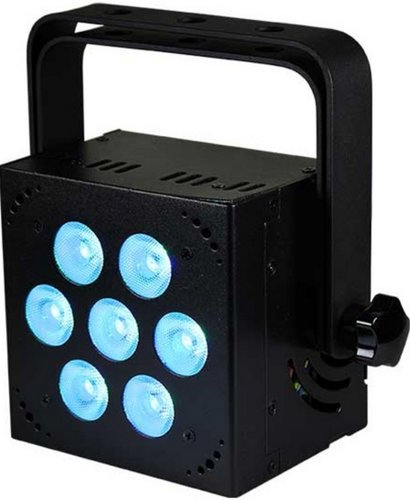 Blizzard Lighting SKYBOX EXA-WH 7 x 15W RGBAW LED Par Can with UV in White SKYBOX-EXA-WH