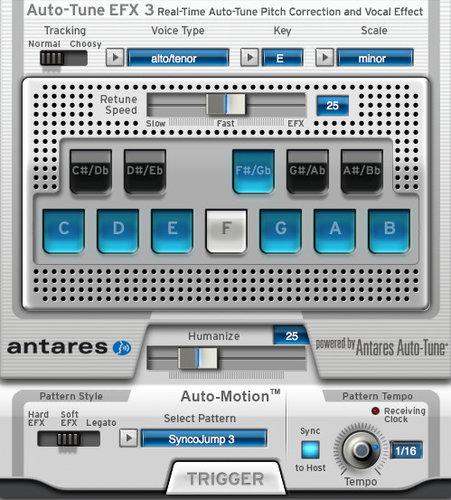 Antares Auto-Tune EFX 3 Real-Time Pitch Correction and Auto-Tune Vocal Effect Crossplatform Software Plugin AUTO-TUNE-EFX-3-E